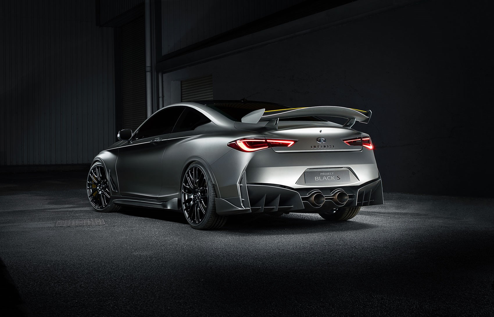 Infiniti hints at 'Black S' performance brand with wild Q60 concept