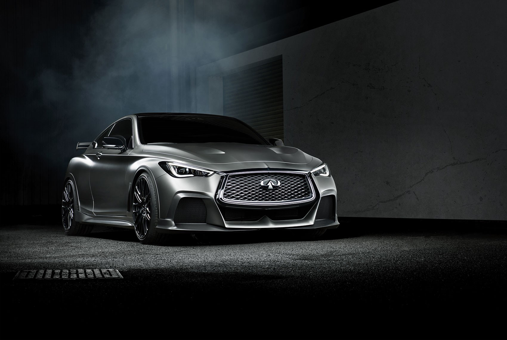 Infiniti Q60 Project Black S previewed ahead of Geneva