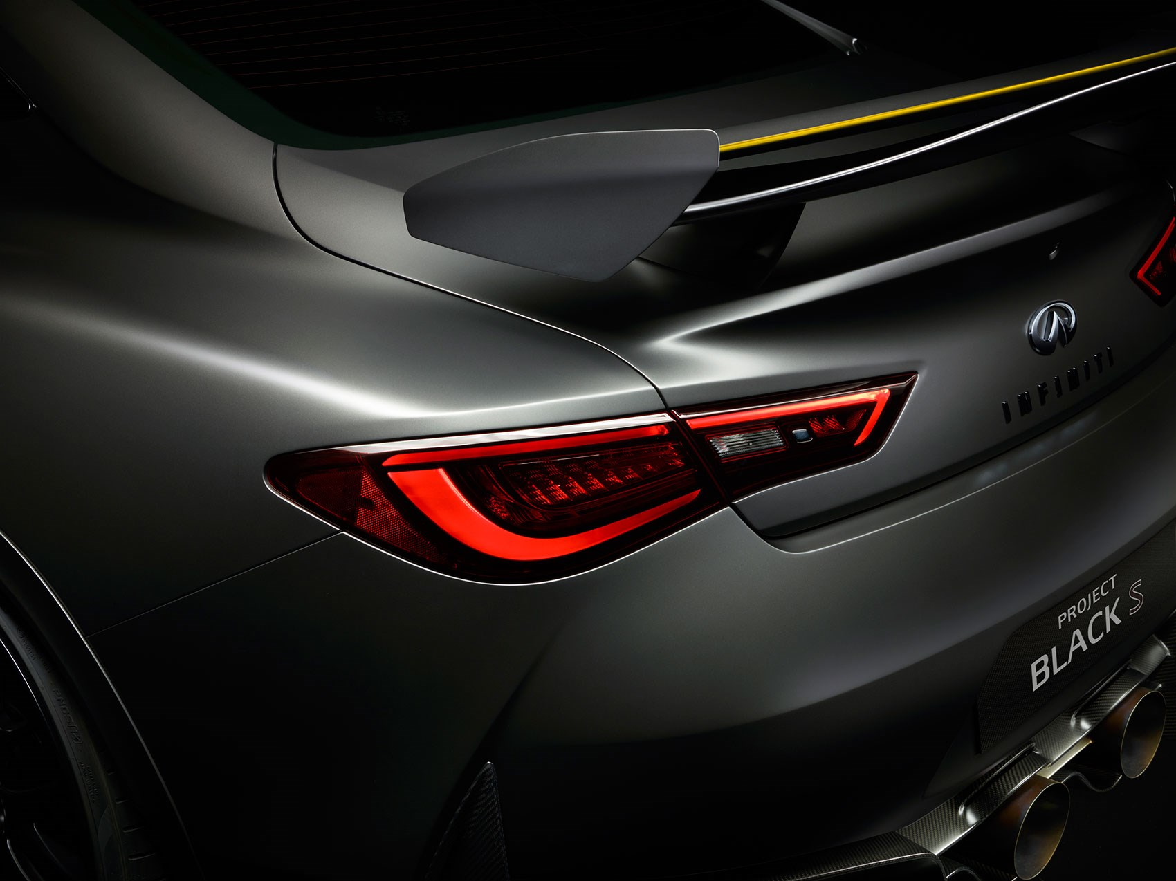infiniti q60 blacked out. see the infiniti q60 black s at 2017 geneva motor show blacked out t