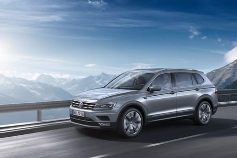 See the new Volkswagen Tiguan Allspace at Geneva motor show