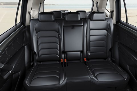 Two rows of seats in new VW Tiguan Allspace