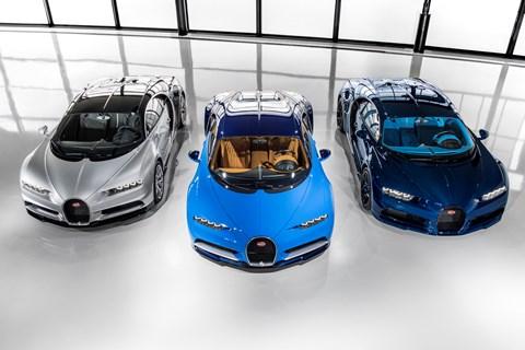 The first customer Bugatti Chirons