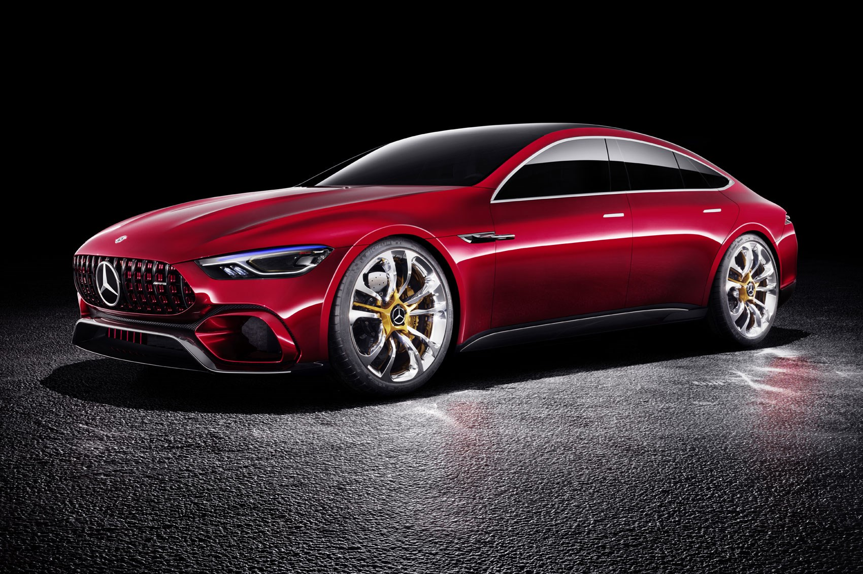 mercedes amg gt concept a cross town rival to the porsche. Black Bedroom Furniture Sets. Home Design Ideas