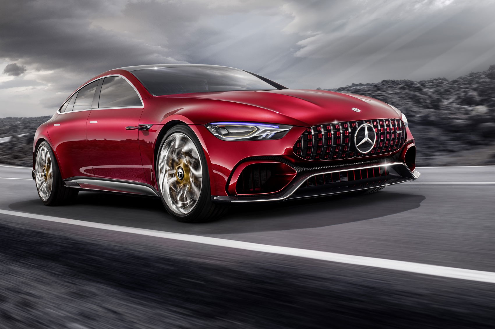 Mercedes amg gt concept a cross town rival to the porsche - Mercedes car show ...