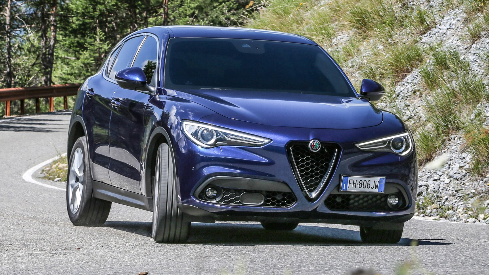 alfa romeo stelvio 2017 review car magazine. Black Bedroom Furniture Sets. Home Design Ideas