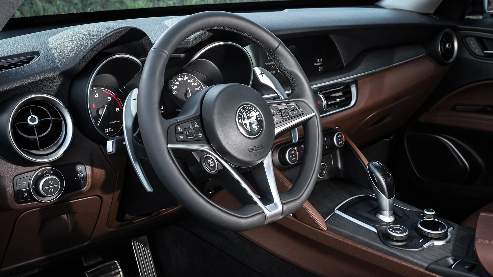 Alfa Romeo Stelvio Steering Wheel >> Alfa Romeo Stelvio (2017) review by CAR Magazine