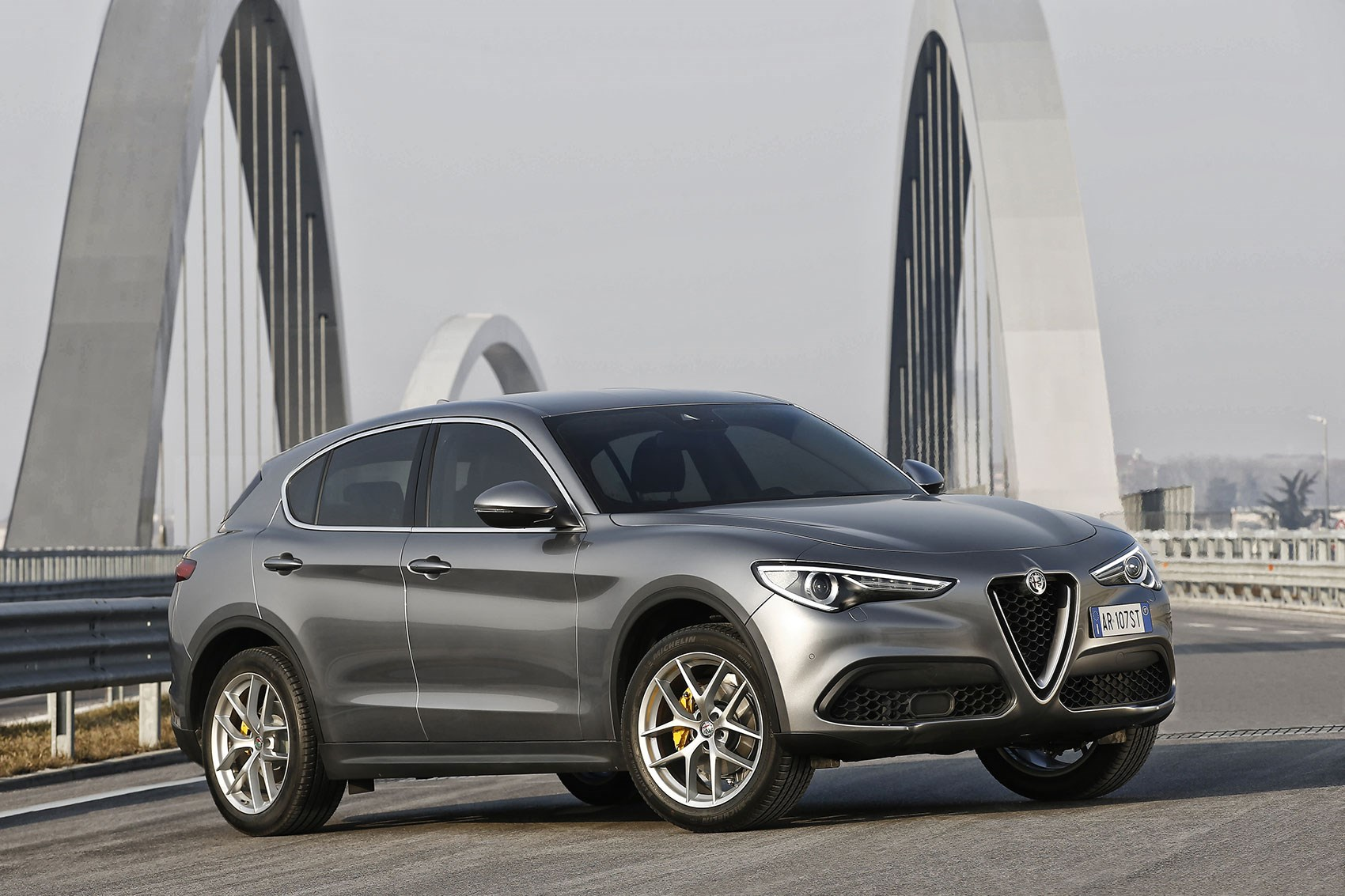 alfa romeo stelvio 2017 review by car magazine. Black Bedroom Furniture Sets. Home Design Ideas