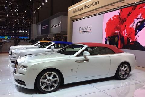 Rolls-Royce Dawn Inspired by Fashion at Geneva 2017