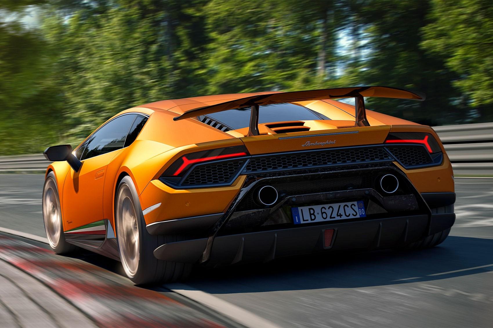 Lamborghini Huracan Performante Races Into Geneva Car Magazine