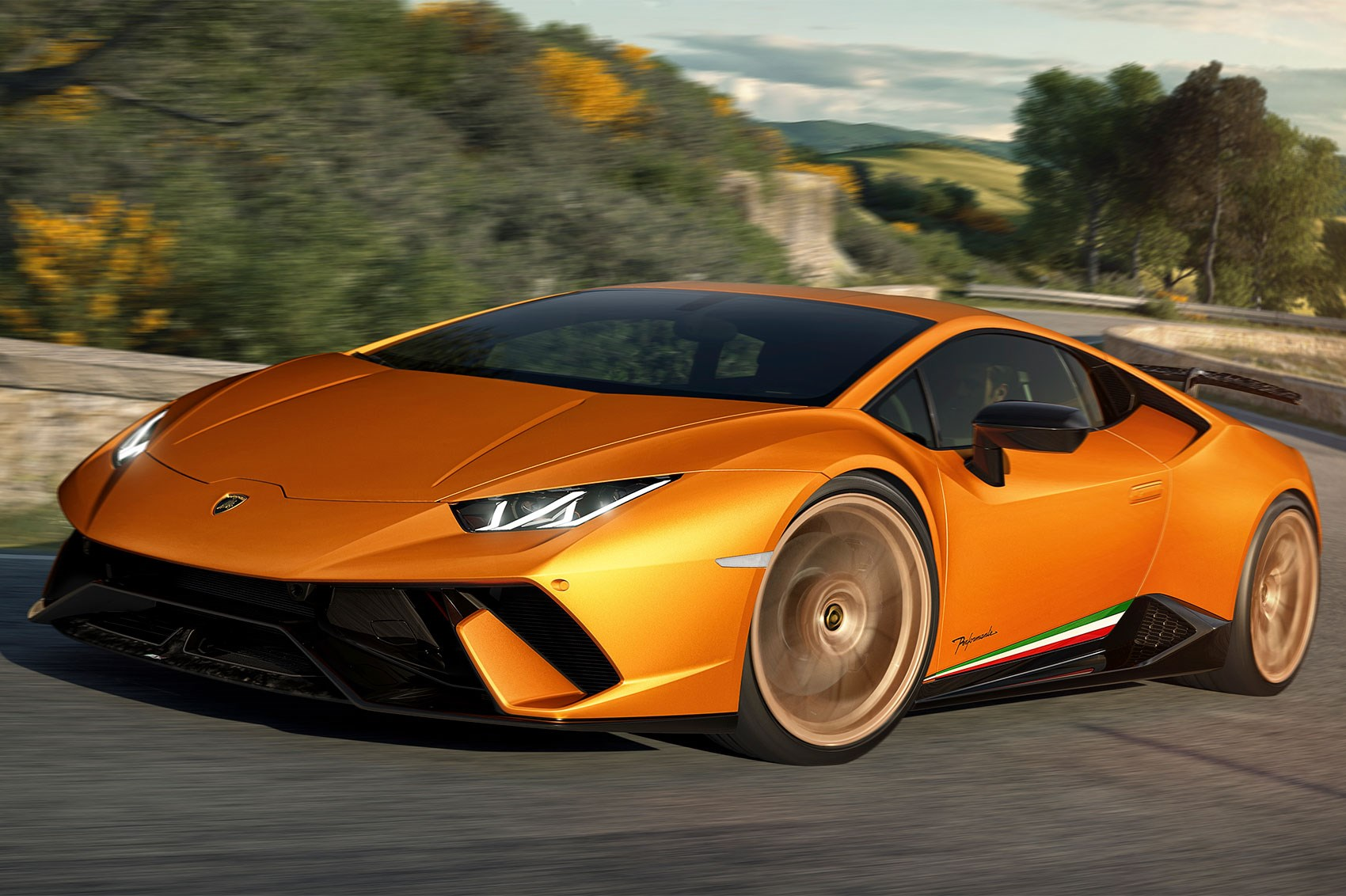 Lamborghini Huracan Performante revealed at Geneva Motor Show