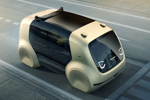 Volkswagen unveils Sedric, its fully autonomous concept vehicle