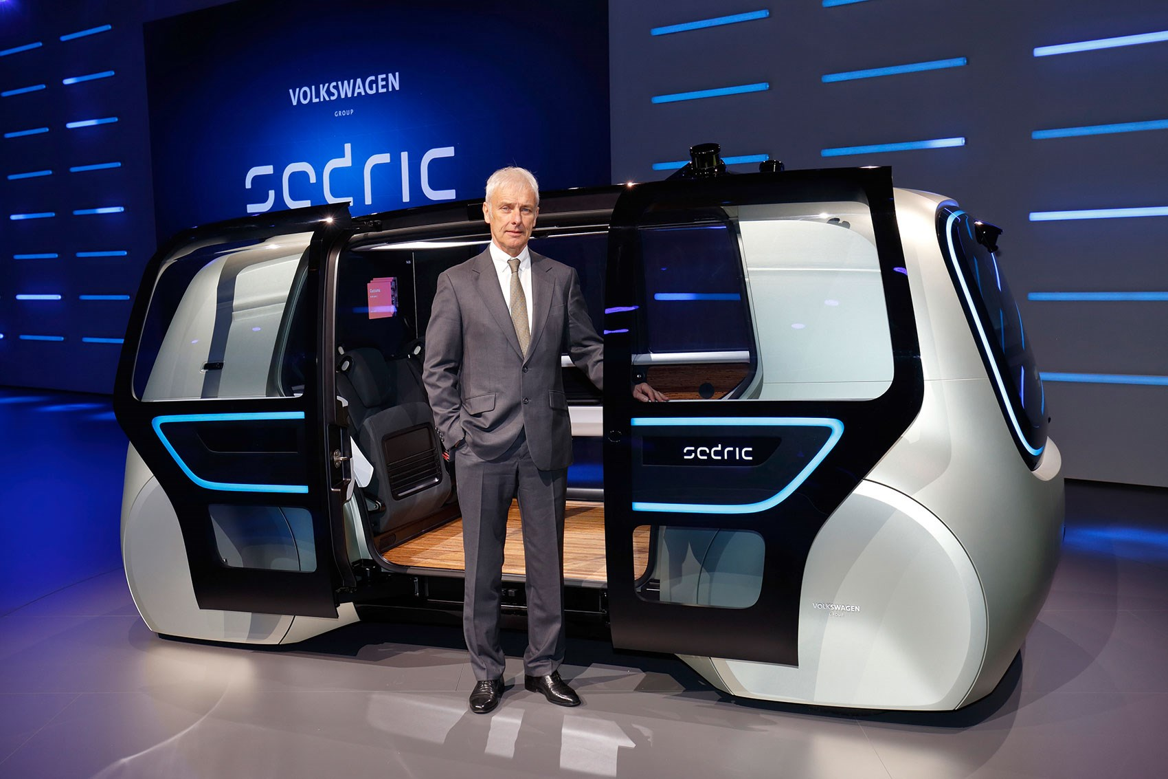 Volkswagen S Pod Cast Sedric Concept At Geneva 2017 By