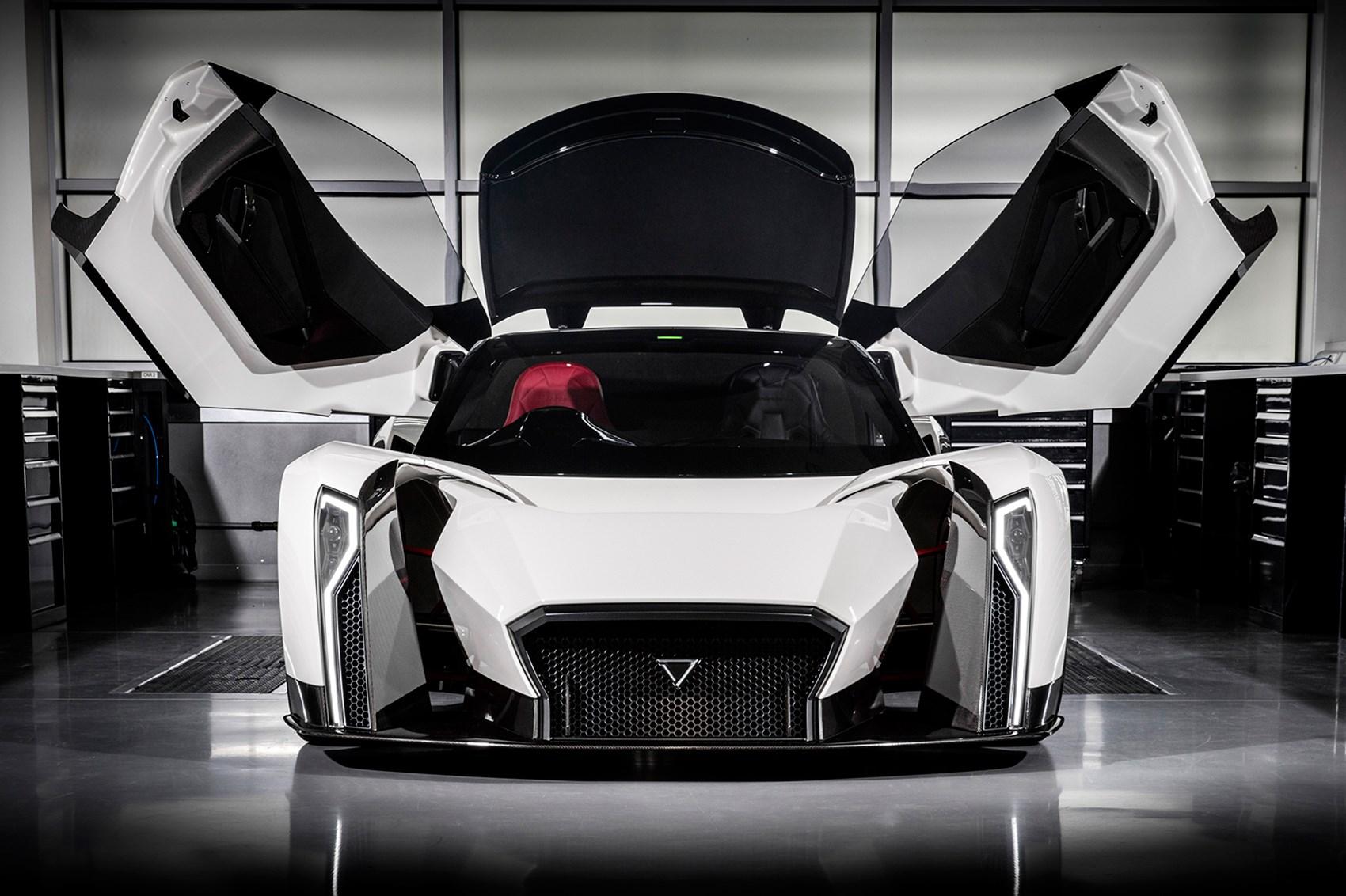 Hyper Sport Car Price >> Vanda Dendrobium: the 200mph electric hypercar from Singapore   CAR Magazine