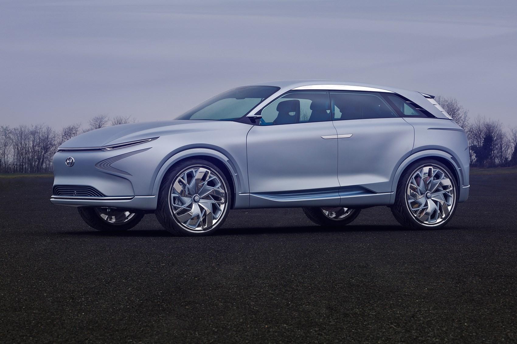 Hyundai FE Fuel Cell Concept looks to the future at Geneva ...