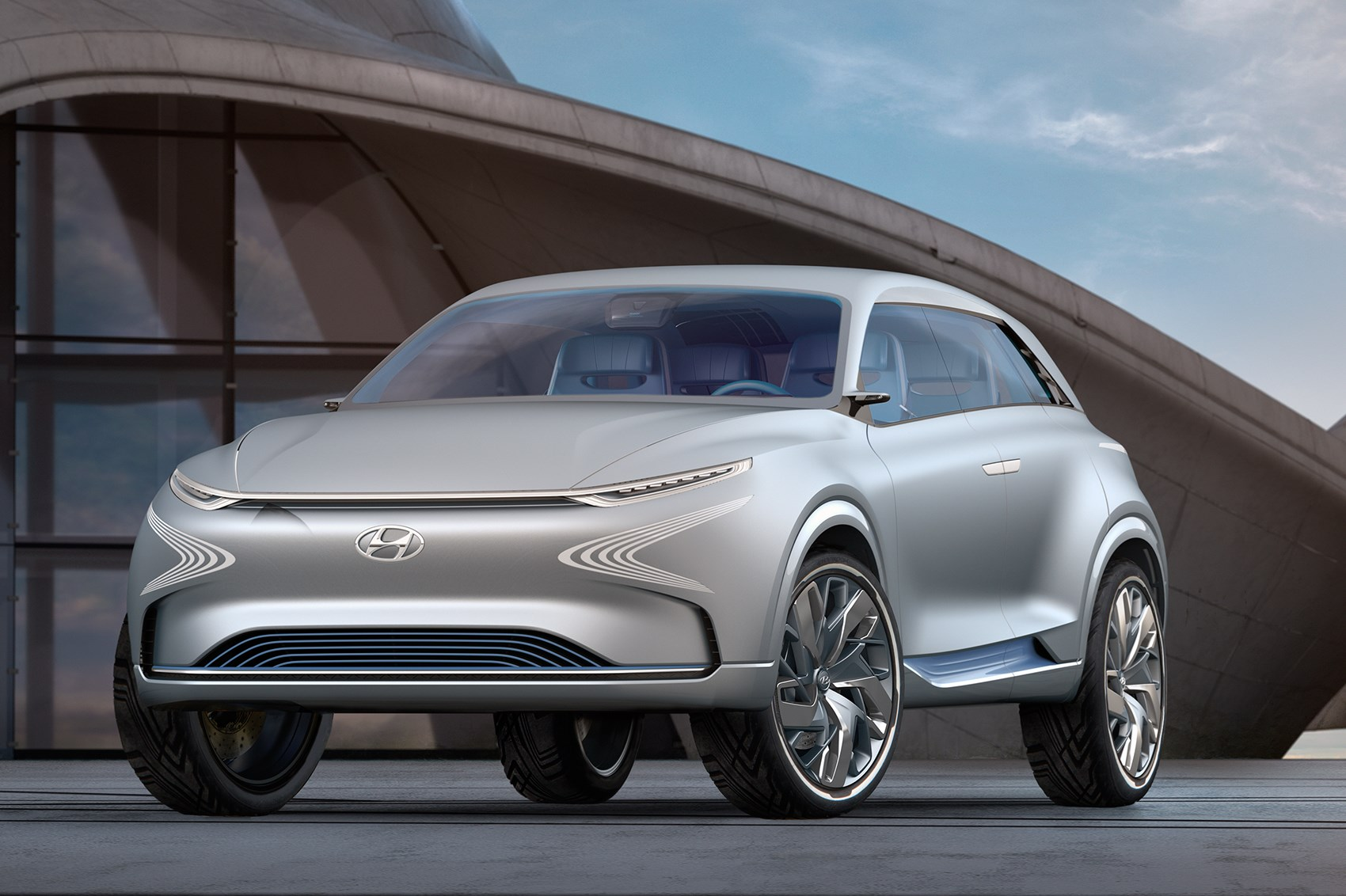 Hyundai FE Fuel Cell Concept unveiled at 2017 Geneva Motor Show