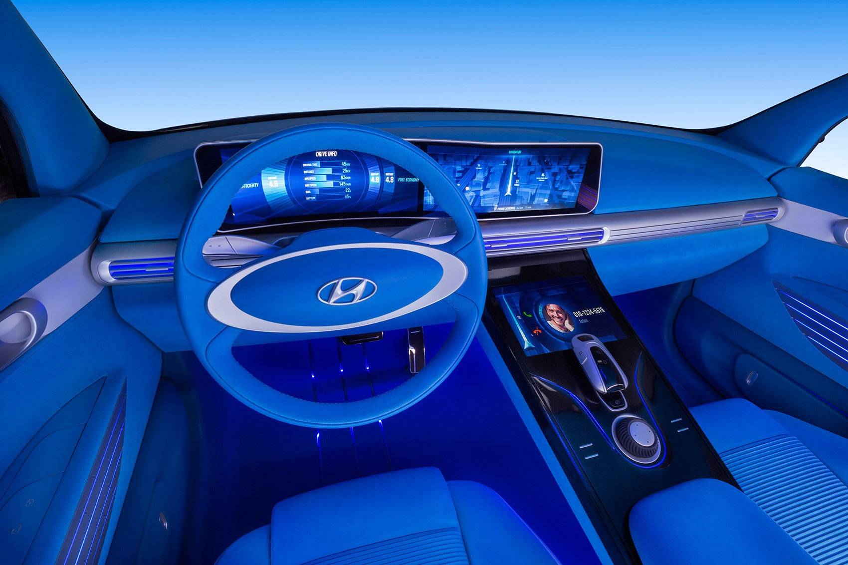 Hyundai unveils new fuel cell concept vehicle  at Geneva Motor Show