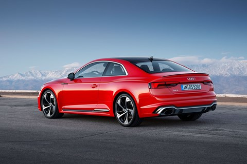 Audi RS5: it's the new 2017 sports coupe
