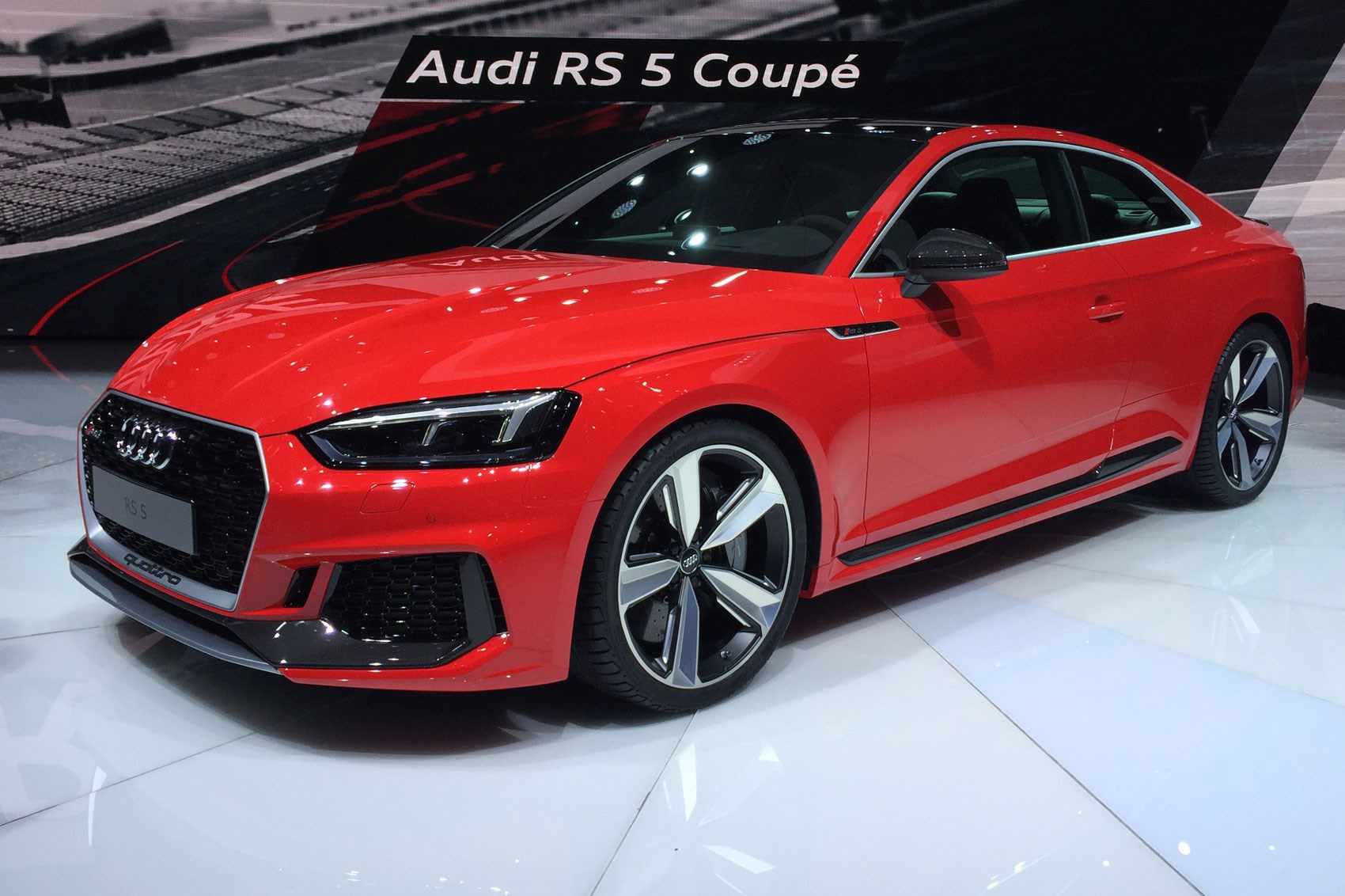 new audi rs5 revealed audi sport delivers its first post rebrand rs car magazine. Black Bedroom Furniture Sets. Home Design Ideas