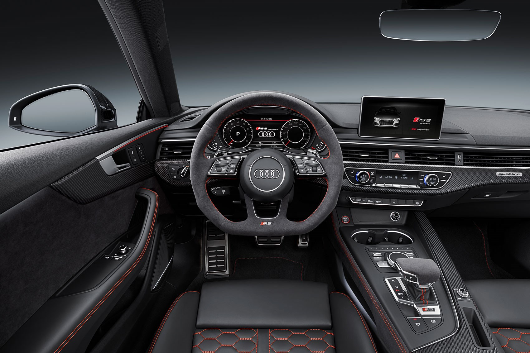 new audi rs5 revealed audi sport delivers its first post. Black Bedroom Furniture Sets. Home Design Ideas