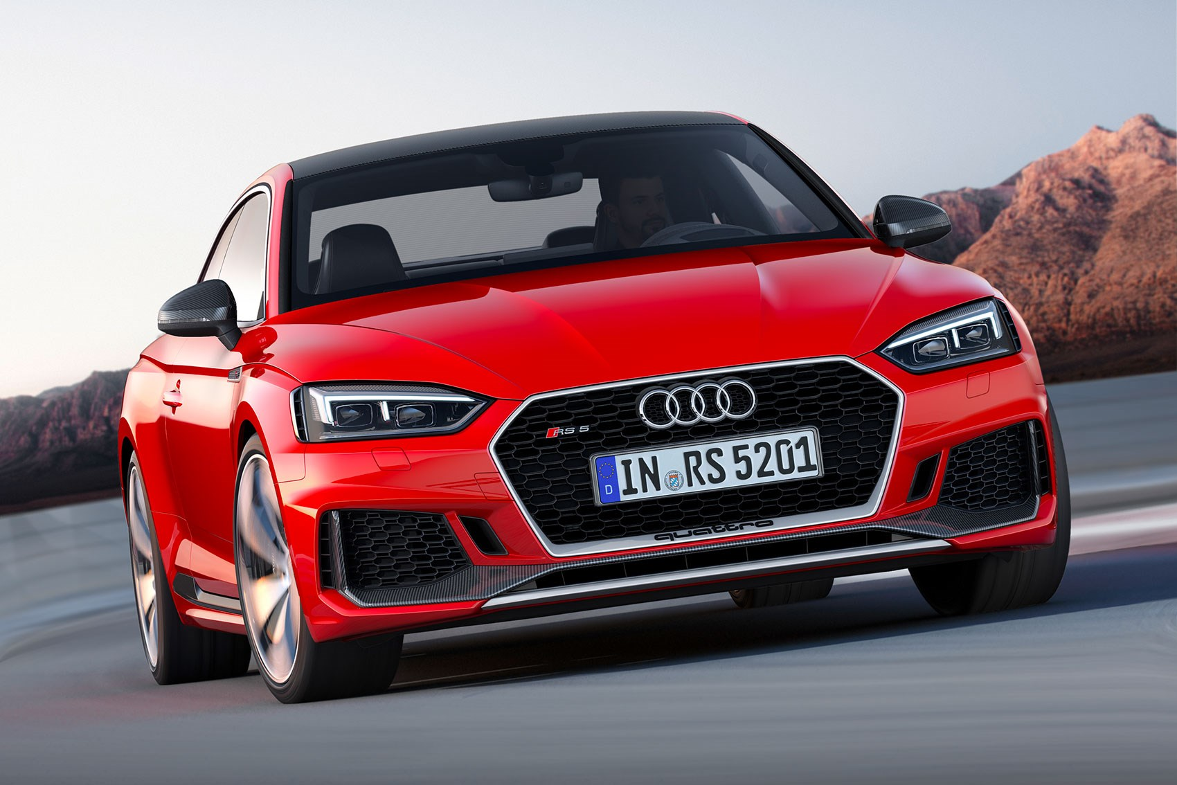 ... New 2017 Audi RS5 Cabin Quattro Script Is Subtler On Lower Grille Of RS5