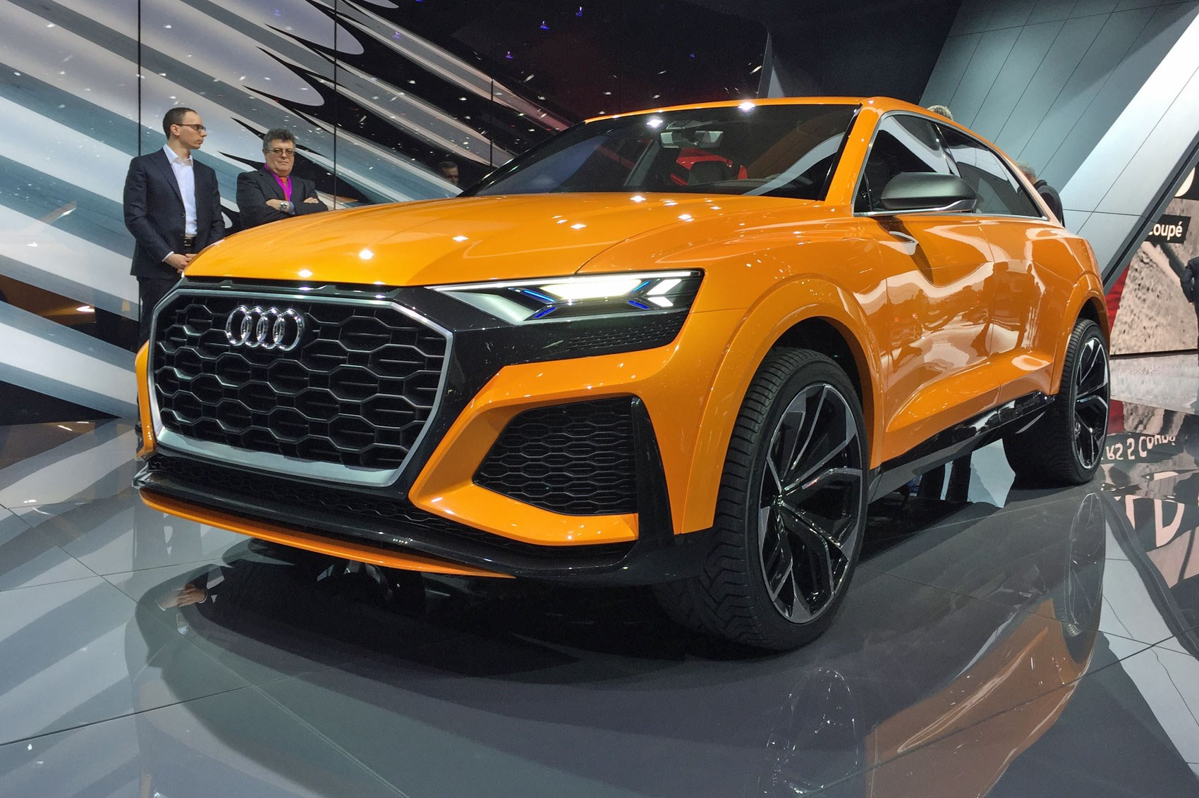 Nissan 2018 >> Again, with more intensity: Audi Q8 concept returns as a hot hybrid by CAR Magazine