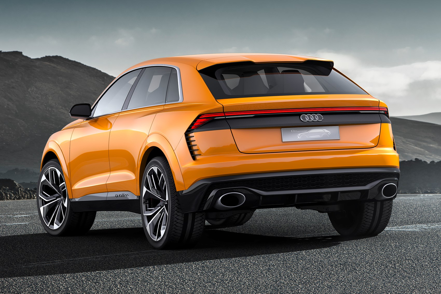 Volkswagen Tiguan Coupe >> Again, with more intensity: Audi Q8 concept returns as a hot hybrid by CAR Magazine