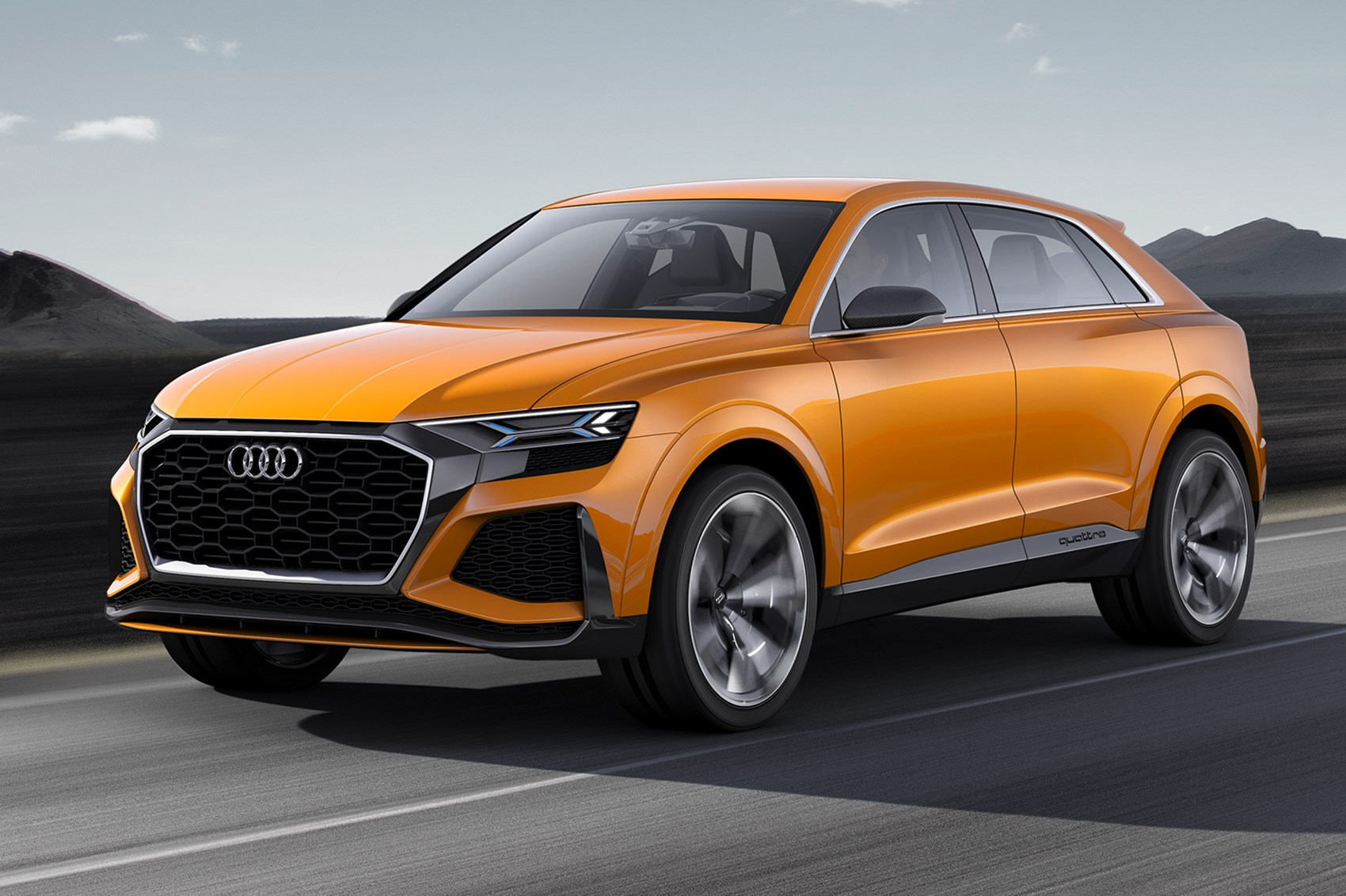 Again, with more intensity: Audi Q8 concept returns as a ...