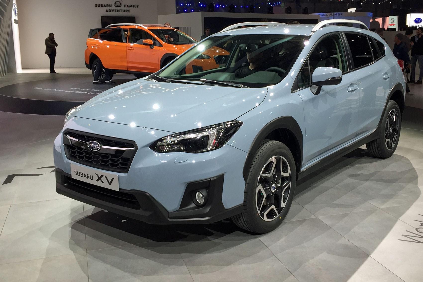 Subaru Xv At Geneva 2017 Motor Show