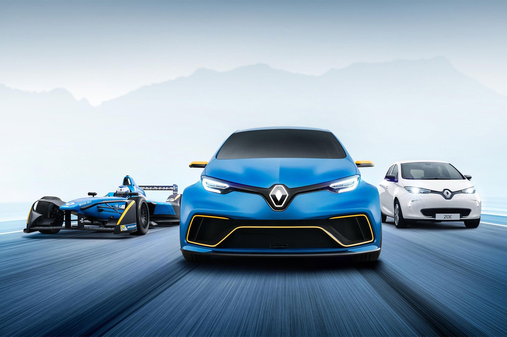 renault zoe e sport muscles up with 460bhp ev hyper hatch by car magazine. Black Bedroom Furniture Sets. Home Design Ideas
