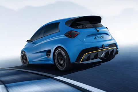Renault reveals 340kW electric hot hatch