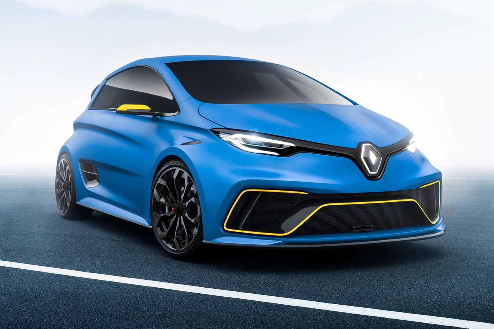 Renault Zoe e Sport muscles up with 460bhp EV hyper-hatch