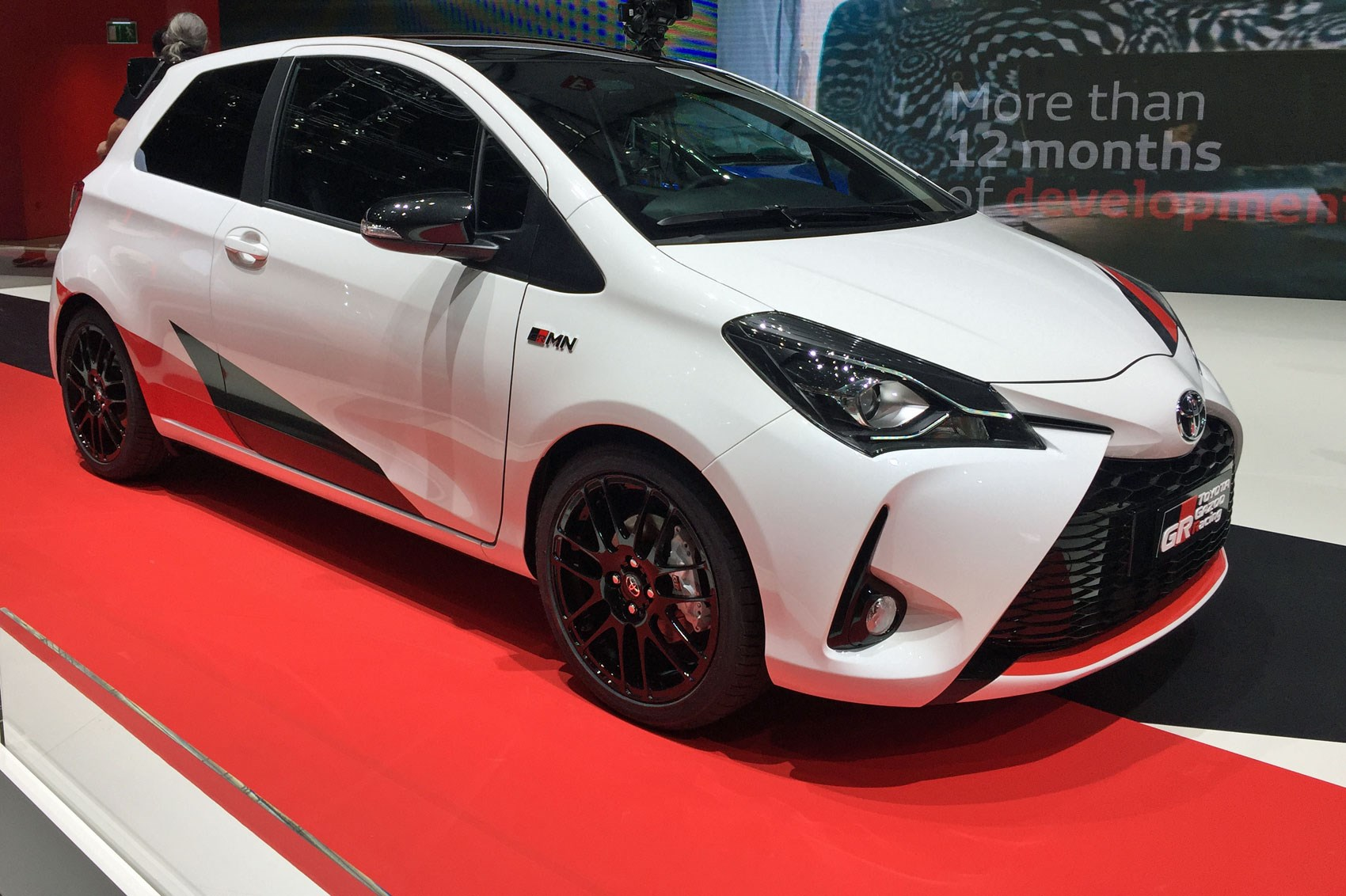 new toyota yaris grmn a hot hatch dark horse by car magazine