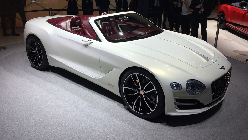 Amazing All Electric Bentley EXP 12 Speed 6e Convertible At Geneva 2017