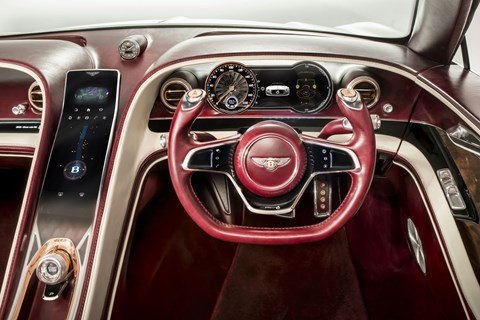 Bentley EXP 12 Speed 6e at Geneva 2017 - interior