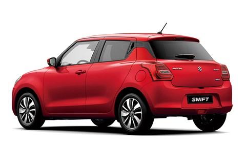 Suzuki Swift at Geneva 2017