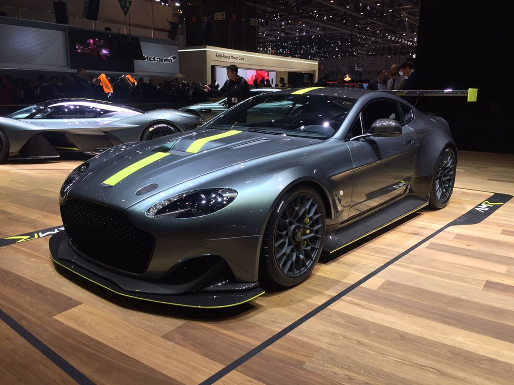 aston martin debuts performance amr sub-brand with hardcore