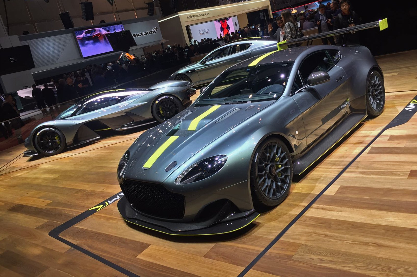 Aston Martin Debuts Performance Amr Sub Brand With