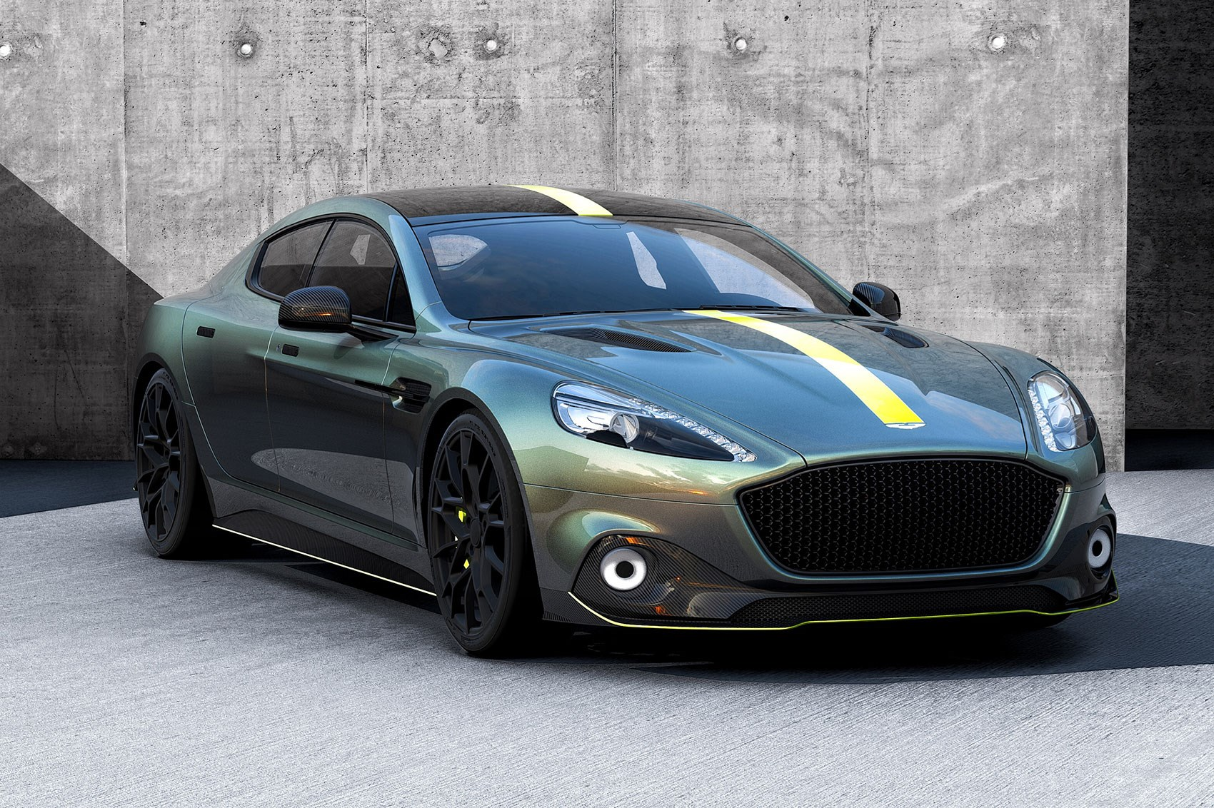 Aston Martin Rapide AMR: The Four-door GT's Lairy Side