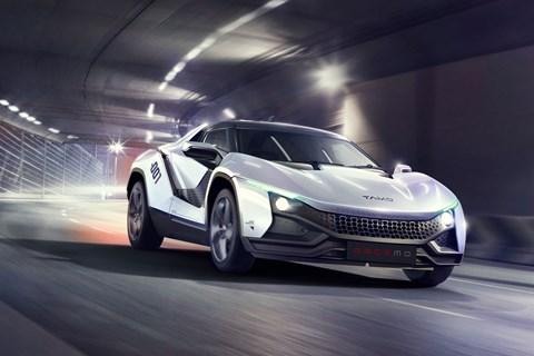 Tamo Racemo sportscar concept at Geneva 2017