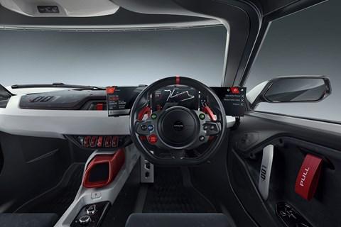 Tamo Racemo sportscar concept at Geneva 2017 - interior