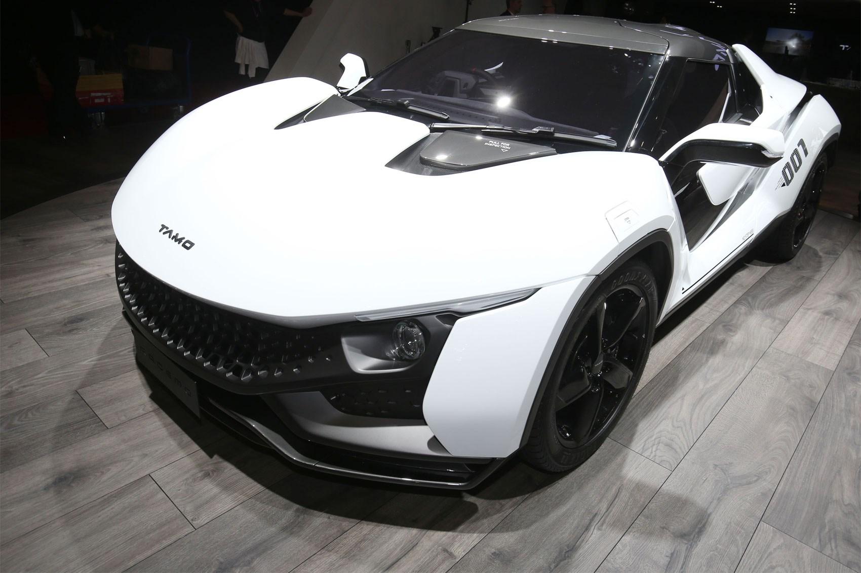 The Tata Racemo Tamo Racemo Sportscar Concept At Geneva 2017 ...