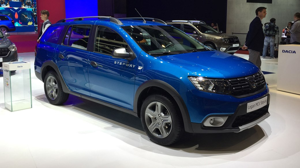Now with added chunk dacia lifts lid on logan mcv stepway by car dacia logan mcv at the 2017 geneva motor show publicscrutiny Image collections