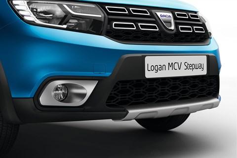 Dacia Logan MCV at the 2017 Geneva motor show