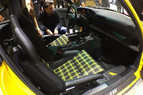 Ruf CTR 2017 interior