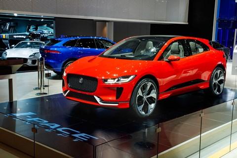 The Jaguar I-Pace at Geneva