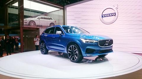 The Volvo XC60 at Geneva motor show