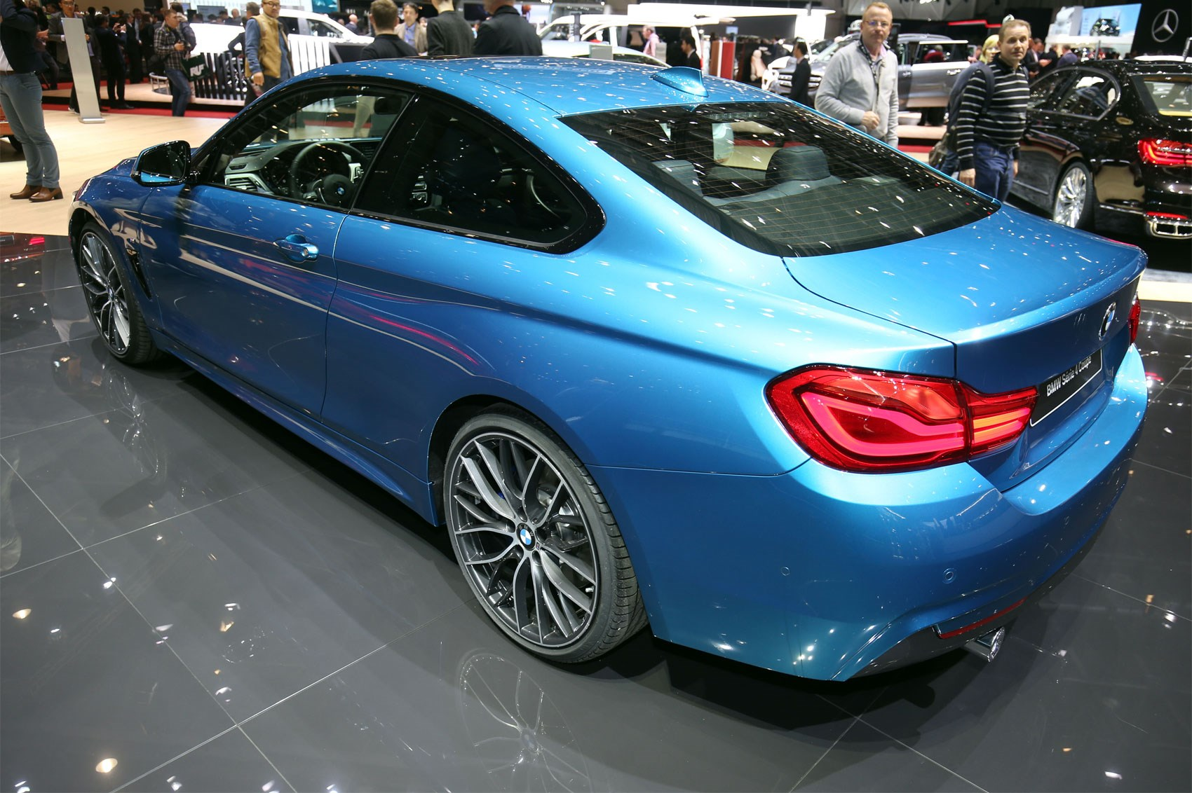 bmw 4 series facelift at geneva 2017 honest by car magazine. Black Bedroom Furniture Sets. Home Design Ideas