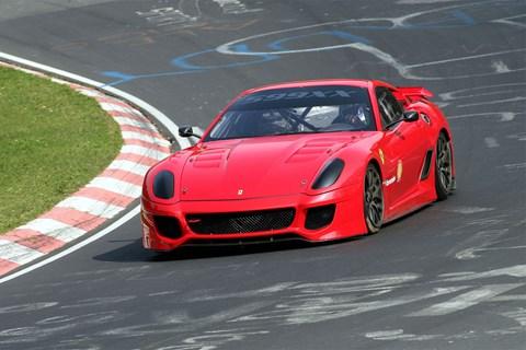 Ferrari 599XX at the Nurburgring