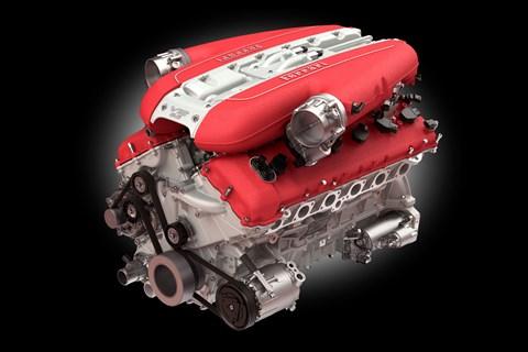 Ferrari V12 from the 812 SuperFast
