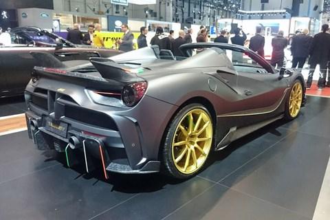 Mansory 4XX Siracusa Spider at 2017 Geneva motor show